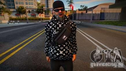 New Cwmonb2 Casual V1 Don Pancho Hoodie LV 3 для GTA San Andreas