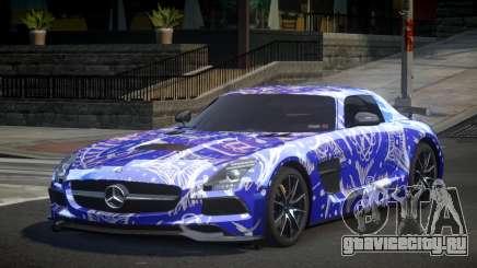Mercedes-Benz SLS BS S10 для GTA 4