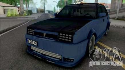 Tofas Dogan X для GTA San Andreas