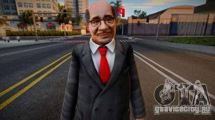 Dead Or Alive 5 - Train Man 2 для GTA San Andreas