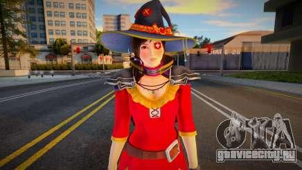 Kokoro Cosplay: Megumin from Konosuba для GTA San Andreas