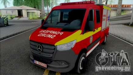 Mercedes-Benz Sprinter 2020 Pompierii SMURD для GTA San Andreas