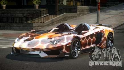 Lamborghini Aventador GST-J S9 для GTA 4