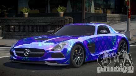 Mercedes-Benz SLS BS S1 для GTA 4