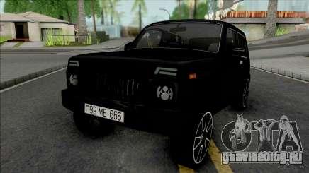 Lada Niva Black для GTA San Andreas