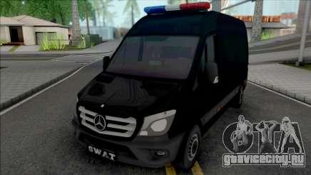 Mercedes-Benz Sprinter 2014 SWAT для GTA San Andreas