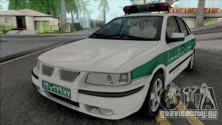 Ikco Samand Police для GTA San Andreas
