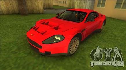 Aston Martin DBR9 (good model) для GTA Vice City