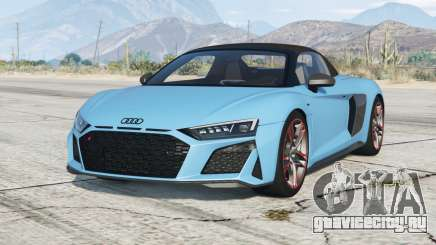 Audi R8 V10 Spyder 2019〡add-on для GTA 5