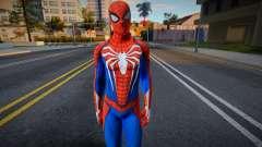 Spider-Man Advanced Suit Re-Texture для GTA San Andreas
