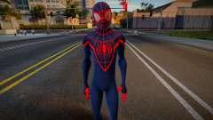 Miles Morales Suit 4 для GTA San Andreas