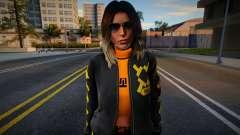 Lara Croft Fashion Casual - Los Santos Summer 2 для GTA San Andreas
