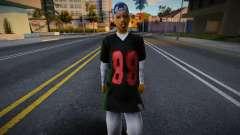 CJ Girlfriends Barefeet - gangrl3 для GTA San Andreas