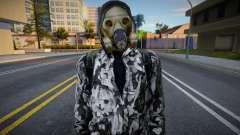 Член группировки X7 в кожаной куртке из S.T.A. для GTA San Andreas