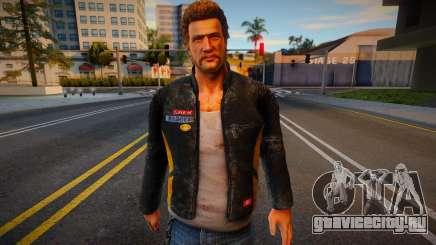 Greene from Dead Rising для GTA San Andreas