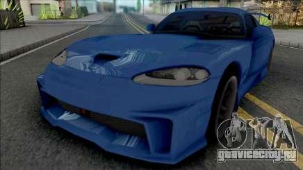 Dodge Viper GTS (MRT) для GTA San Andreas
